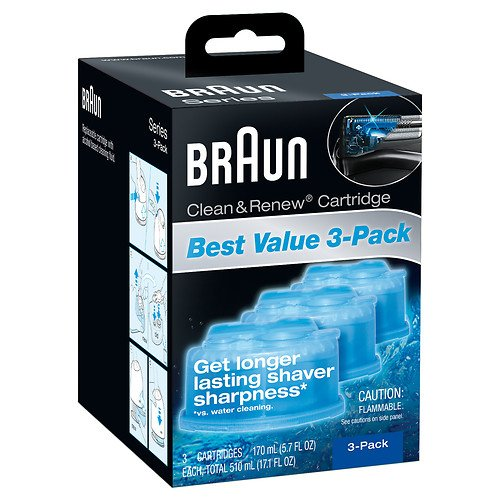 Braun CCR3 Clean & Renew Refill For Shaver Models 9585