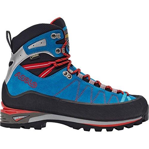 Asolo Elbrus GV Mountaineering Boot - Men's - 10.5 - Blue/Astor Silver