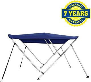 4 Seasons Bimini Top Boat Cover 3 Bow 6 ft. Long in Different Sizes & Colours
