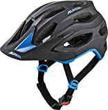 Alpina Unisex– Erwachsene CARAPAX 2.0 Fahrradhelm, black-blue, 52-57 cm