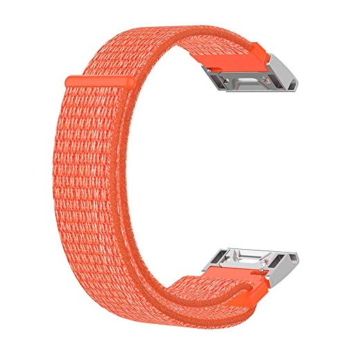 GOUPPER Voor Garmin Quatix 3 Fenix 5X Fenix3 HR Garmin Tactix Bravo Vervanging Nylon Smart Horlogeband Snelle Release Band Vervangende Horlogeband Nylon Riem