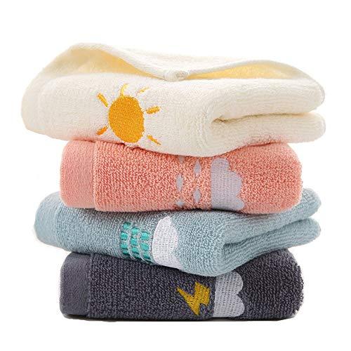 ASR Juego de 4 toallas para invitados, para gimnasio, hogar, playa, piscina,...