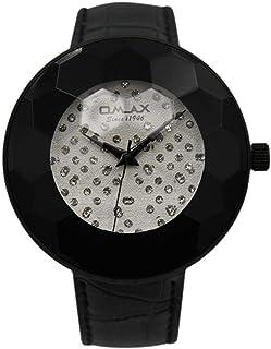 Omax Dress Watch For Unisex Analog Leather - 00EA03M62I