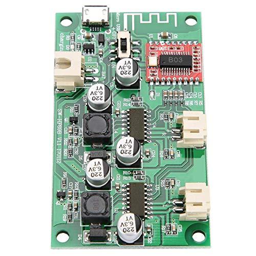 con placa de amplificador Bluetooth de gestión de carga 2x6W DC 5V / 3.7V batería circuito de bricolaje para proyectos de electrónica de construcción
