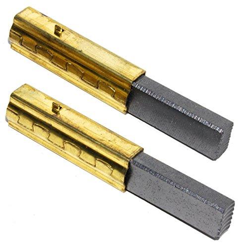 Spares2go Kohlebürsten für Numatic George GVE370 Staubsauger (BL21104 230260-Typ, 2 Bürstenpaar)