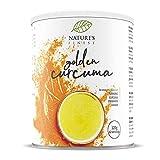 Nature's Finest Latte Golden Cúrcuma 125g | Mezcla orgánica de té de hierbas de cúrcuma, canela y jengibre. | Vegetariana y vegana