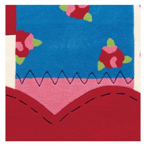 Sam Patchwork Herz Kinderteppich arte espina 4155-39, Größe:140*200cm
