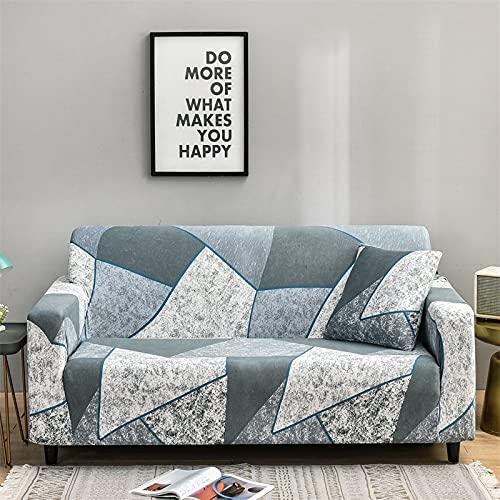 MKQB Moderner und einfacher Sofabezug, kompakter und All-Inclusive elastischer Stretch-Sofabezug, Ecksofabezug für Wohnzimmer NO.3 M (145-185cm