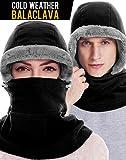 Dimples Excel Balaclava Ski Mask Face Mask Feece Hood Scarf Winter Women Men