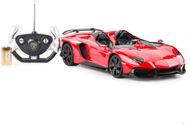 la mejor selección de Mopoq Modelo de Coche de Control Remoto Coche de de de Control Remoto Niño Adulto Lamborghini Boy Juguete de Coche ReCochegable Eléctrico Control Remoto Racing Juguete  Mejor precio