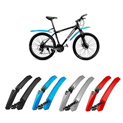 Barley33 Guardabarros de Bicicleta de montaña Neumáticos de Bicicleta MTB Guardabarros Guardabarros Juego de Guardabarros Delantero Trasero