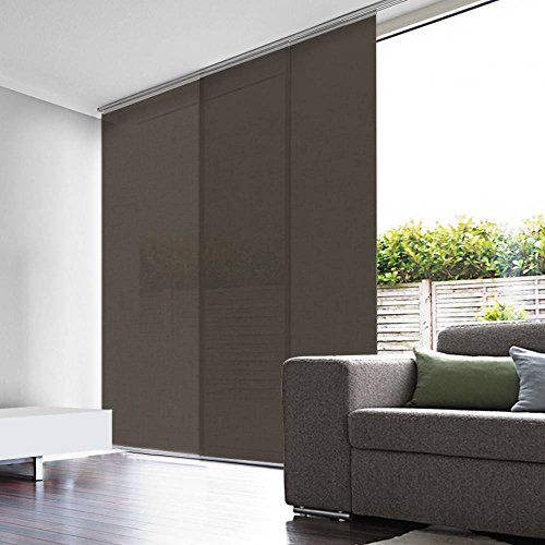 Madecostore - Panel japonés de velo de lino, 50 x 260 cm