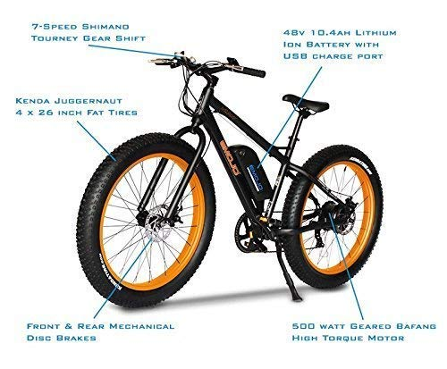 51whKDUGPXL Emojo Wildcat Pro 500W Aluminum Mountain Electric Bike