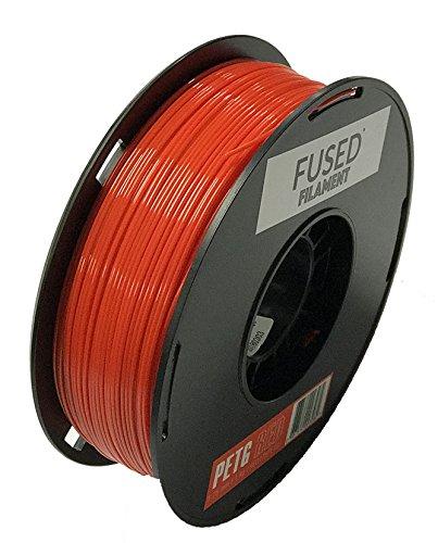 Upgrade 1kg Roll PETG Filament 1.75mm for FDM 3D Printer and 3D Pen 2.2lbs Coffee PETG 3D Filament Dimensionsgenauigkeit +//- 0.02mm