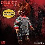 Mezco Toys Chucky Jeu d´Enfant 3 poupée parlante Designer Series Pizza Face Chucky 38 cm