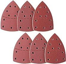 pour papier abrasif Black et Decker grain 140 mm VOARGE Lot de 40 feuilles abrasives Velcro pour ponceuse Delta 5 trous 40//80//120//240
