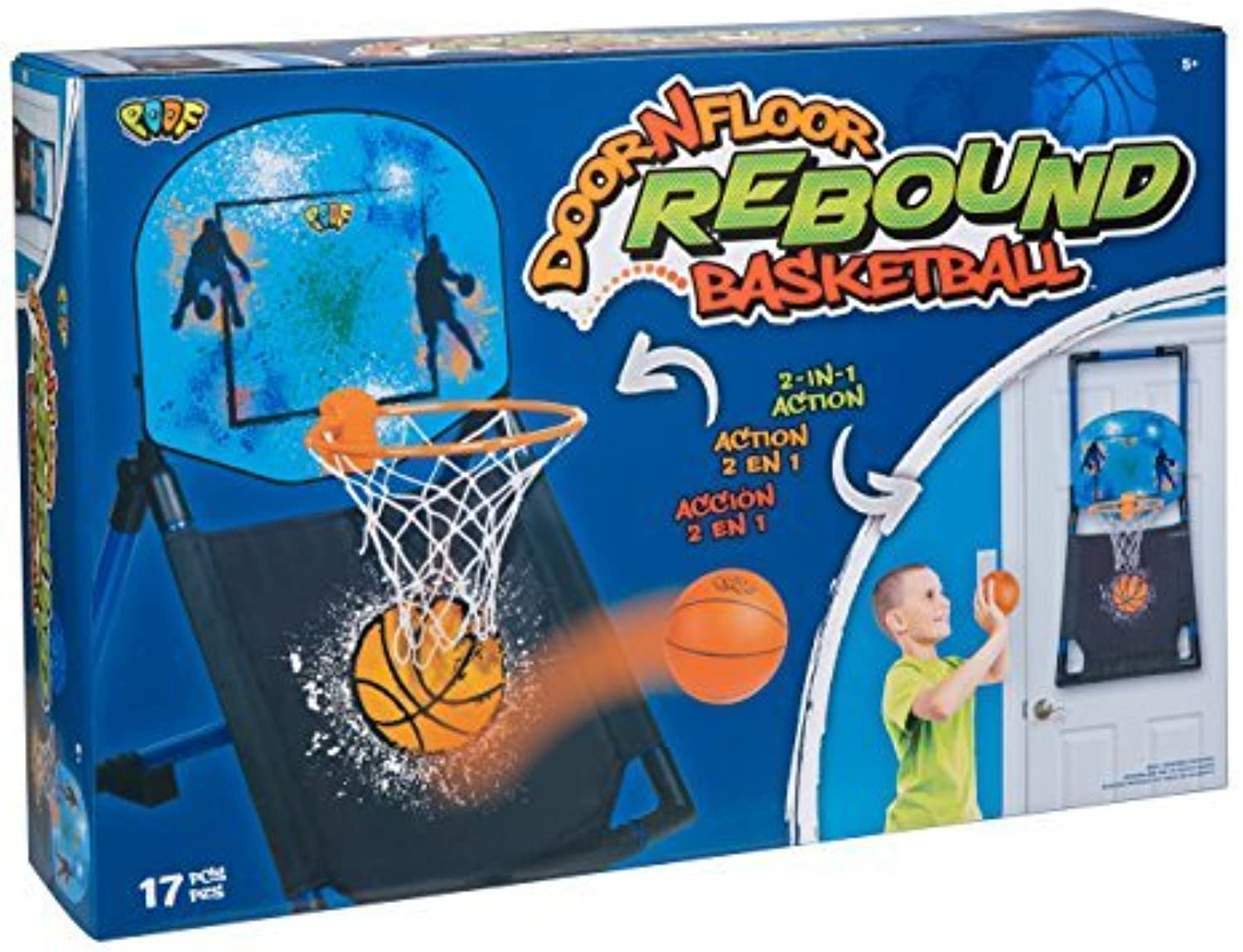 POOF Door N Floor Rebound Basketball by POOF B01N1S2KD5  Neuankömmling  | Hochwertige Materialien