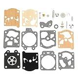 Mengxiang K20-WAT Carburetor Rebuild Kit for Walbro K11-WAT WAT WT WA Series Stihl 021 023 025 026 1121 1123 1130 Homelite 240 245 250 290 300 340 Poulan Husqvarna Weed Eater Chainsaw String Trimmer