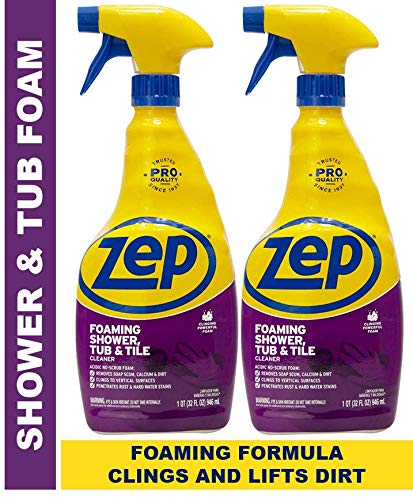 Zep ZUPFTT32 Foaming Shower Tub Tile Cleaner