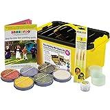 NANA 'S PARTY ENVÍO Rápido Snazaroo Mini Starter Kit de pintura facial (pinturas más de 300 caras) para maquillar/guía/esponjas/+