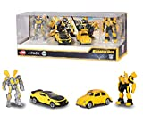 Dickie Toys - 203113020 - Transformers 6 - Giftpack 4 Pièces - Figurine Articulée - Echelle 1/64 ème