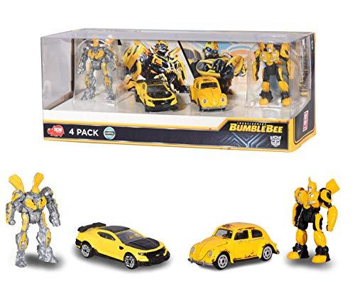Dickie - Transformers Pack 2 vehículos y 2 Figuras ( 3113020) , color/modelo surtido