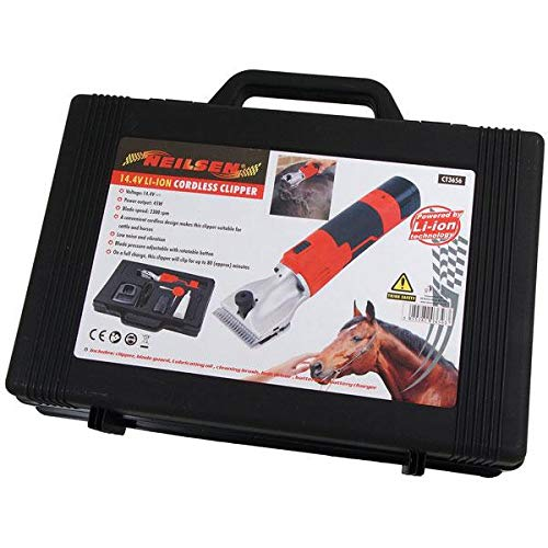 Neilsen 10.8v Li-ion Cordless Clipper CT3656 - Used on horses, cattle and...