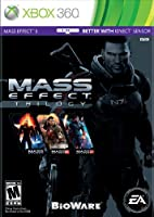 Mass Effect Trilogy - Xbox 360 Book Cover