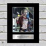 Margot Robbie Photo dédicacée encadrée Suicide Squad