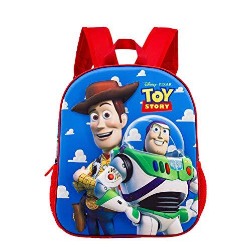 Toy Story Buzz   Woody Mochila 3D  Pequeña