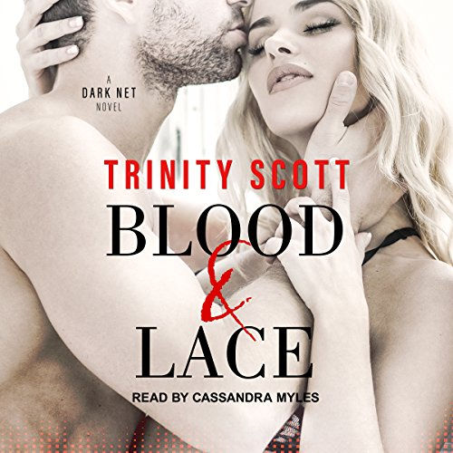 Blood and Lace audiobook cover art