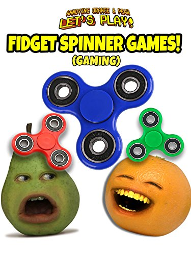 Clip: Annoying Orange and Pear Let's Play - Fidget Spinner Games (Gaming)