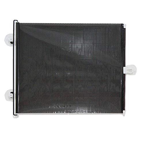 XUJINQI auto zonwering raam multifunctioneel auto zonwering voor autozijruit, grootte: 60cm x 40cm, willekeurige kleur levering