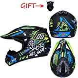 OLEEKA Motocicleta ligera Off-road Casco ATV todoterreno Downhill Mountain bike Cross Helme
