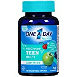 Best Teen Vitamins - One A Day Vitacraves Teen for Him, 60 Review