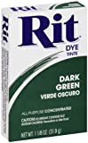Rit, Dark Green Purpose Powder Dye, 1-1/8 oz