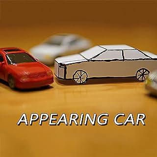 ZQION Appearing Car Magic Tricks Card to Paper Car Magician Props Close-Up Gimmick Magic Accessories Illusion