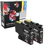 Compatibili ALTA RESA (3000 pagine) Cartucce d'inchiostro per Brother LC-3237 LC3237 HL-J6100DW MFC-J5949DW HL-J6100DW MFC-J6945DW MFC-J6947DW - DUE NERI