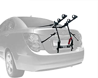 Tyger Auto TG-RK2B202B Deluxe Black 2-Bike Trunk Mount Bicycle Carrier Rack. (Fits Most Sedans/Hatchbacks/Minivans and SUVs.)