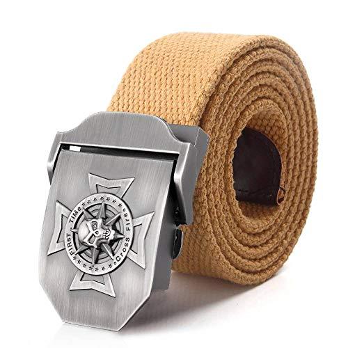Cinturón Lona,Cinturón Táctico De Color Caqui Para Hombre, Estilo Militar, Resistente Al Aire Libre, Usair Force, Hebilla, Pantalones Chinos, Cinturones Gruesos De Lona Para Jeans, Pantalones De