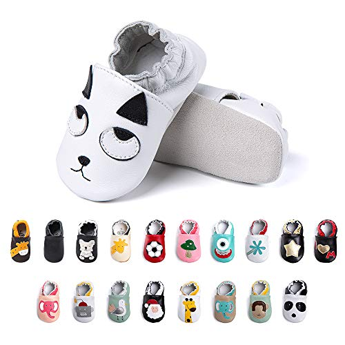 Primeros Pasos Bebe Niña Niños Zapatos Zapatillas de Estar por Casa Pantuflas...