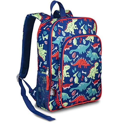 LONECONE Kids School Backpack for Boys & Girls - Sized for Kindergarten, Preschool - Pack-O-Saurus