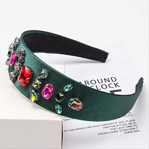 Haarschmuck Barock Juwel Perlen Stirnband Für Frauen Mädchen Kristall Strass Lünette Elegante Samt Satin Haarband Haarbügel