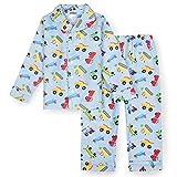 Wildkin Juego de pijama de franela para niños de 2 piezas -  Azul -  24 meses