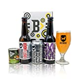 Brewdog Craft Beer Limited Edition Gift Set With Brewdog Glass (3 Pack) - Zombie Cake, Lost Lager, Indie Cans