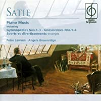Satie Piano Music by Peter Lawson