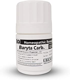 Baryta CARBONICUM 1M Homeopathic Remedy in 32 Gram