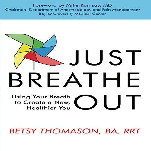 Just Breathe Out audiobook cover art