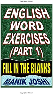 Best vocabulary fill in the blank Reviews