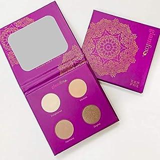 GlamFox Natural Vegan Eye Shadow Palette, Zen Fox, (Soft Neutral Tones), 0.2 Pound